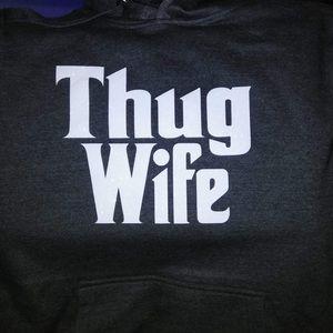 Tops - Hooded sweatshirt